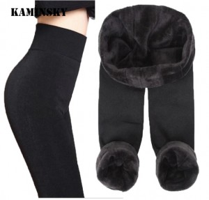 Quần nhung nữ bó siêu ấm Kaminsky