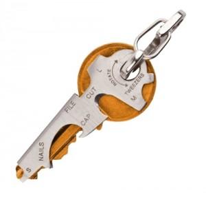 Móc kẹp chìa khóa bỏ túi đa năng 8 trong 1