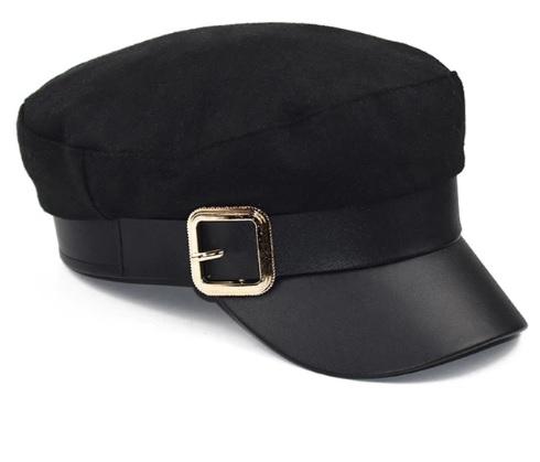 Mũ Berets thời trang nữ khuy cài