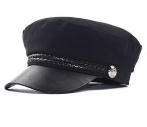 Mũ Berets thời trang nữ dây tết