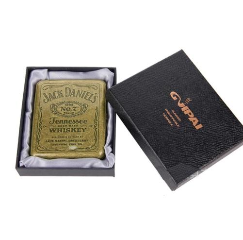 Hộp đựng thuốc lá bằng kim loại cổ điển Jack Daniels No.7