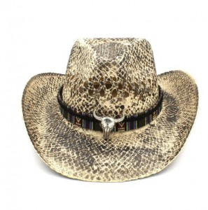 Mũ cao bồi kiểu da rắn Cowboy Jazz Hat