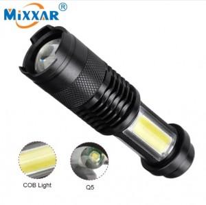 Đèn PIN Q5 4000LM LED Flashlight Zoom