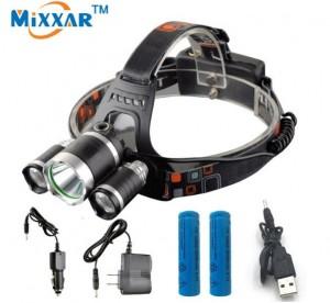 Đèn pha C 13000Lm T6+2*R5 LED Headlight