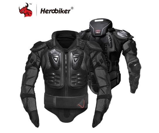 Áo khoác giáp đua xe máy bảo vệ thân và cổ HEROBIKER
