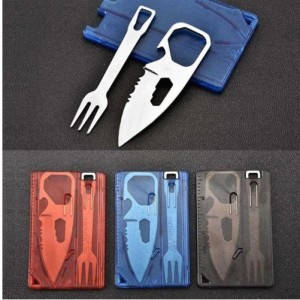 Bộ thẻ sinh tồn dao, nĩa đa chức năng