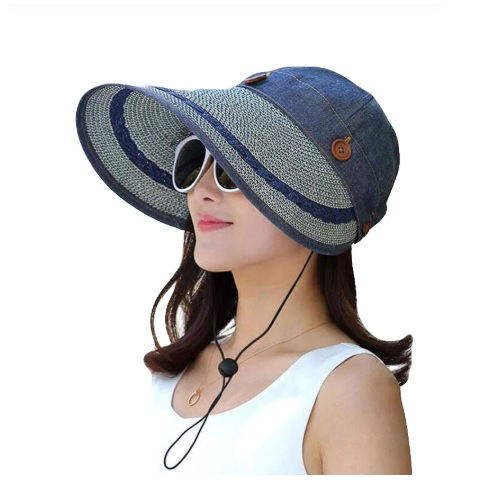 Mũ thời trang đi biển vành rộng chống tia UV