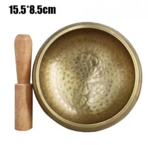 Bát chuông Yoga, phật giáo Ấn Độ - Size:15.5*8.5cm