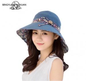 Mũ thời trang nữ đi biển mùa hè