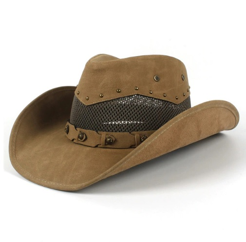 Mũ cao bồi miền tây Jazz Caps C4