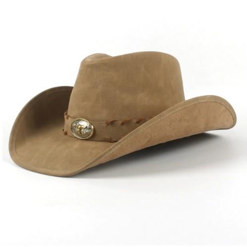 Mũ cao bồi miền tây Jazz Caps C6