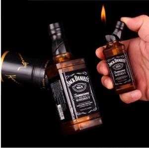Bật lửa sáng tạo mô hình chai rượu Jack Daniels No.7