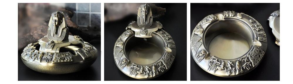 Gạt tàn xì gà tượng Kim tự tháp Ai cập cổ đại