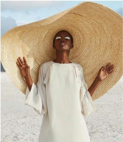 Mũ thời trang nữ đi biển mùa hè vành rộng
