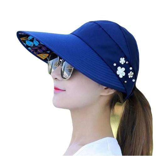 Mũ chống nắng kiểu Hàn Quốc hình bông hoa