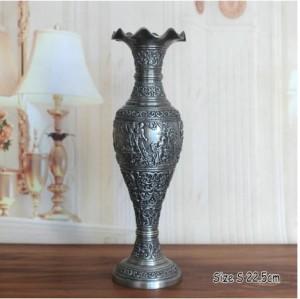Bình hoa trang trí kiểu cổ điển, chiều cao 22,5 cm