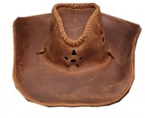 Mũ cao bồi sao miền tây da bò Jazz Sombrero