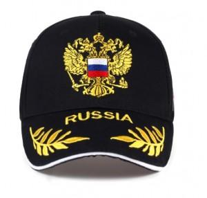 Mũ bóng chày 100% Cotton thêu biểu tượng Nga