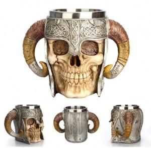 Cốc tiệc Halloween 3D Skull Cup