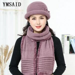 Bộ khăn quàng cổ thời trang và mũ mùa đông