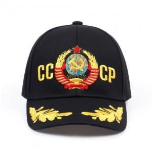 Mũ lưỡi trai thêu quốc huy Liên Xô CCCP