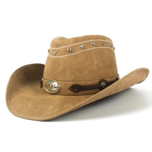 Mũ cao bồi miền tây Jazz Caps C2